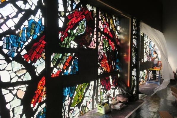 Weilerwand in der Kirche Maria am Gestade